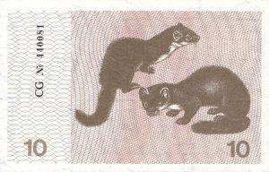 10 Talonu banknotas 1991m, reversas https://www.manokolekcija.lt
