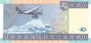 10 Litu banknotas 2007m, reversas https://www.manokolekcija.lt