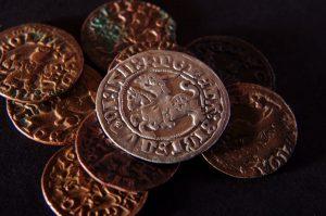 LDK monetos, pusgrasiai, boratinkos https://www.manokolekcija.lt