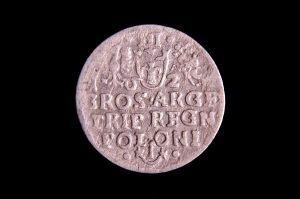 LDK moneta sidabrinis Zigmundo Vazos III trigrašis https://www.manokolekcija.lt