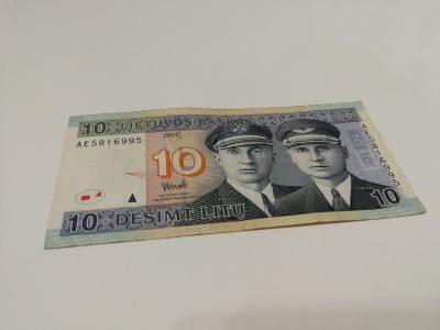 10 Litų banknotas