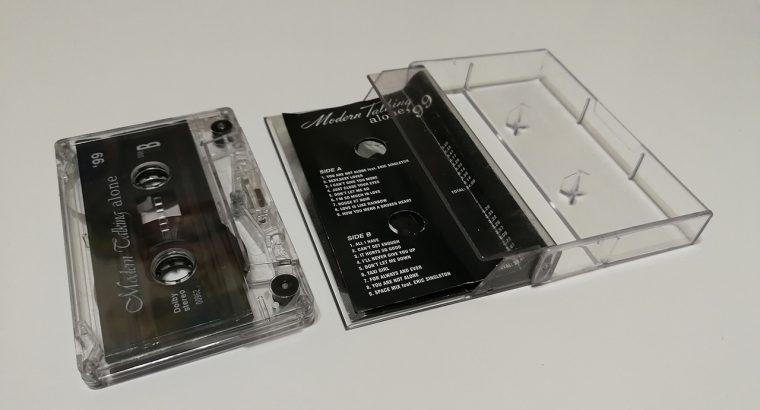"""Modern Talking """"Alone"""" kasetė"""