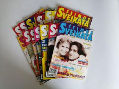 """13 žurnalų """"Šeimos sveikata"""""""