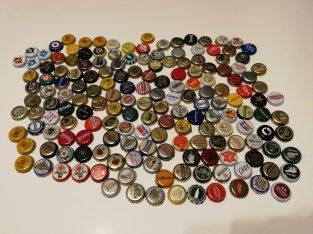 160 kamštelių kolekcija