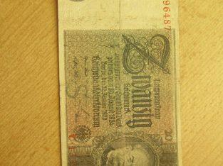 20 reichsmark , Vokietija , 1929 .