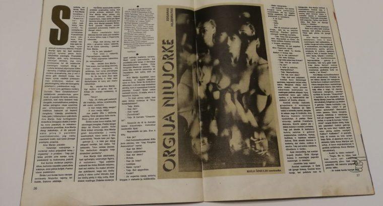 Žurnalas Tik Vyrams 1993 10
