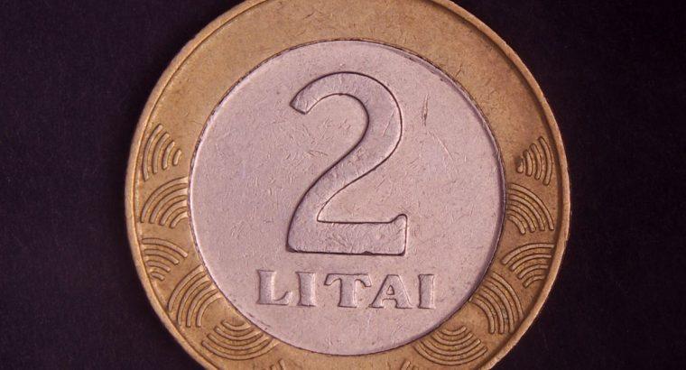 Dviejų litų moneta