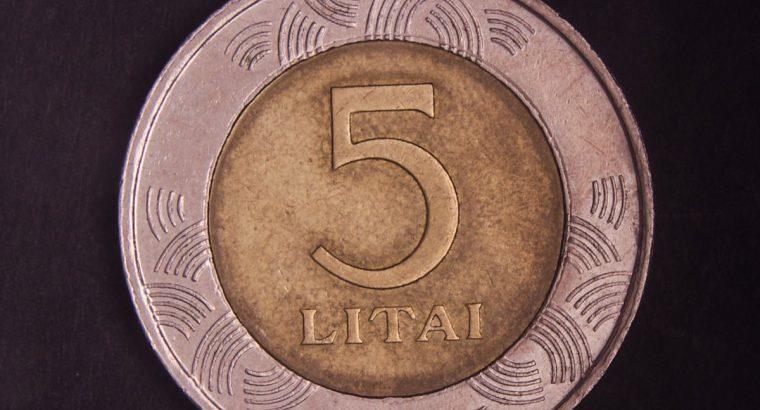 5 Litų moneta