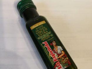 Dekoratyvinis alyvuogiu aliejaus buteliukas ACEITE DE OLIVA VIRGEN EXTRA is Madeiros