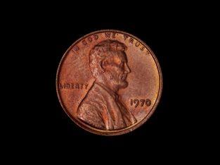 1 JAV dolerio cento moneta