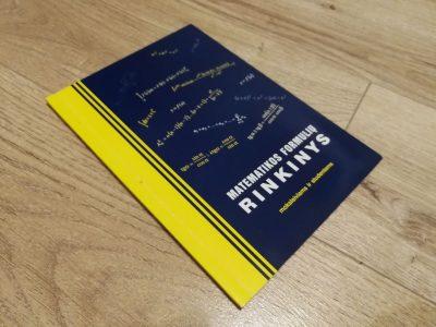 Knyga Matematikos formulių rinkinys moksleiviams ir studentams
