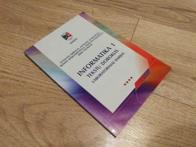 Informatika 1. Tekstų doroklis. Laboratorinių darbų knyga