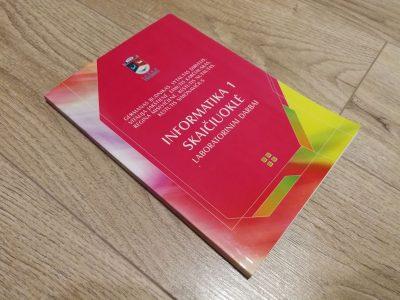 Mokomoji knyga Informatika 1. Skaičiuoklė. Laboratoriniai darbai