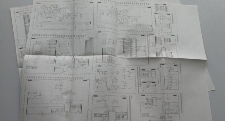 Originali Philips televizoriaus 32PFL7423H elektronikos schema