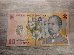 Banknotas 10 Rumunijos lėjų