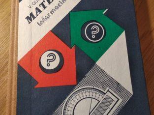 """V. Gusevas, A. Mordkovičius """"Matematika, Informacinė medžiaga"""""""