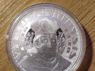 Sidabrinis medalis Lietuvos didysis kunigaikštis Vytautas