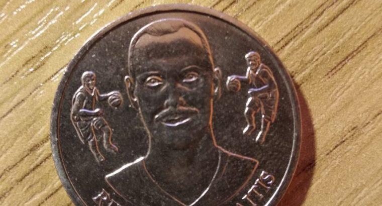 Lietuvos krepšinio federacijos Oficiali Medalių Kolekcija 2011 IKI. 11medalių