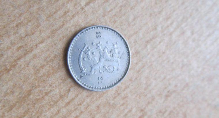 25 pennia , Suomija , 1921