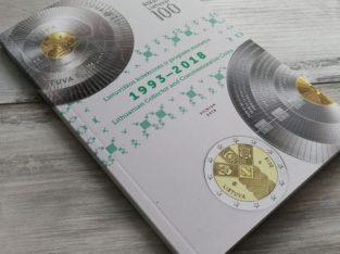 """Oficialus Lietuvos banko leidinys """"Lietuviškos kolekcinės ir proginės monetos 1993-2018"""""""
