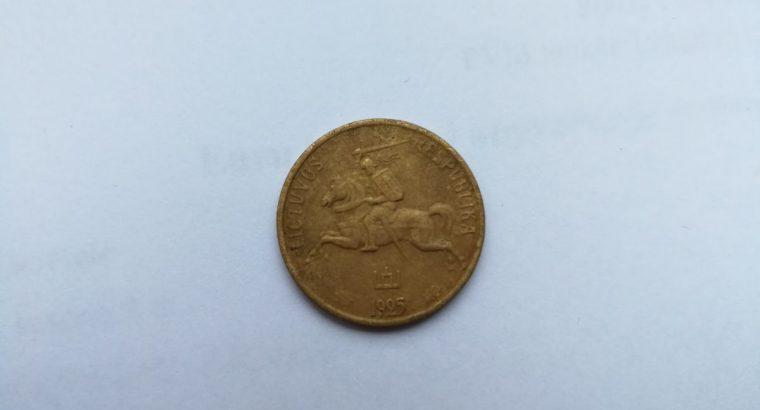 Smetoniskas 10 centu moneta 1925 metu