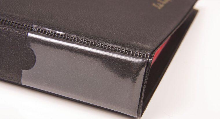 Juodas monetų dėklas SCHULZ 200 monetų su 33mm x 33mm kišenėlėmis