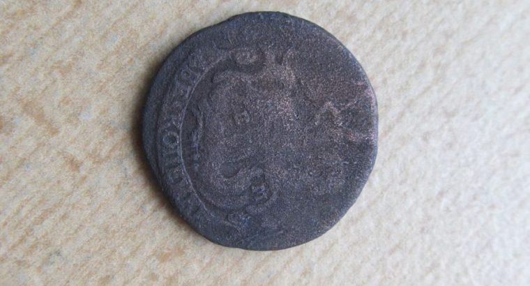 2 kapeikos , Rusija , 1777