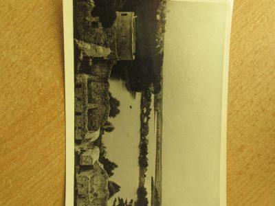 Trakų pilies griuvėsiai , apie 1960 metus
