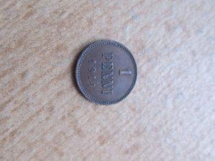 1 penni , Rusija Suomija , 1914