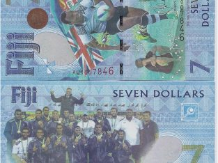 Fidžis 7 Dolars banknotas 2017 metai UNC