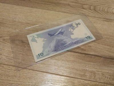 10 Litu UNC banknotas 1993 metai