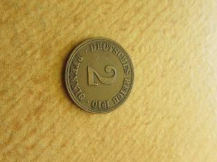 2 pfennig , Vokietija , 1910