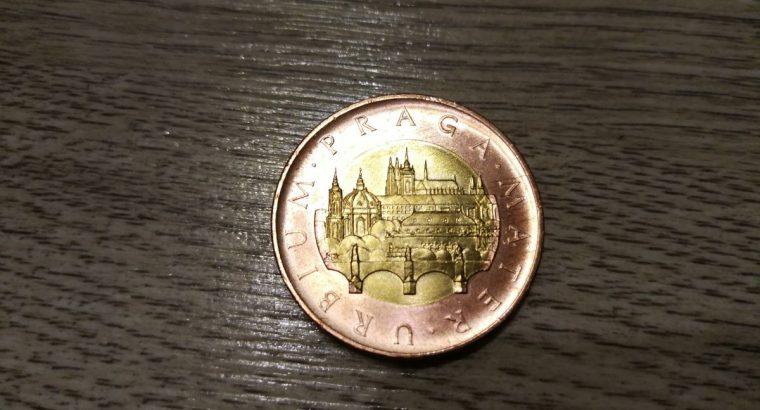 Grazi 50 Cekijos kronu moneta