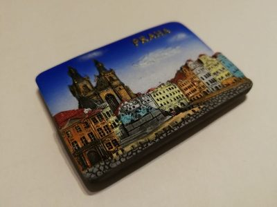 Kolekcinis saldytuvo magnetukas is Prahos