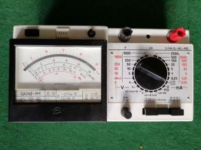 Parduodu naują universalų elektros matavimo prietaisą Ц4342-M1 made in USSR