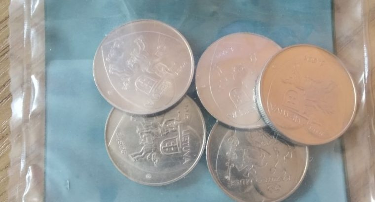Moneta, skirta Kaziuko mugei
