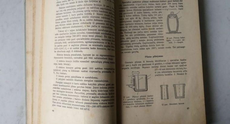"""""""Metalu technologija"""" knyga"""