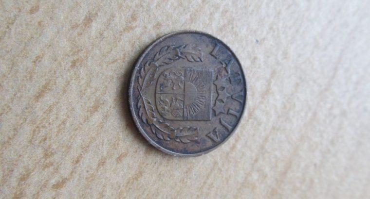 1 santims , Latvija , 1939