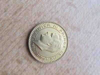 20 franku , Monakas , 1950