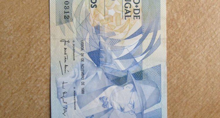 100 escudos , Portugalija , 1988