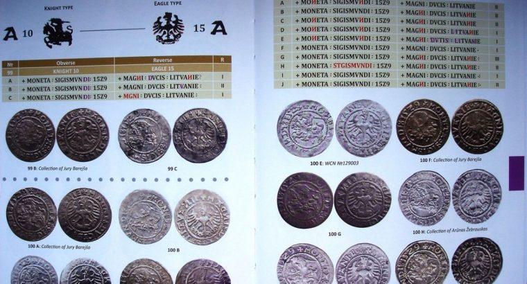 """Lietuviškų Aleksandro Jogailaičio ir Žygimanto Senojo pusgrašių katalogas """"Early Lithuanian half-groats 1495-1529"""""""