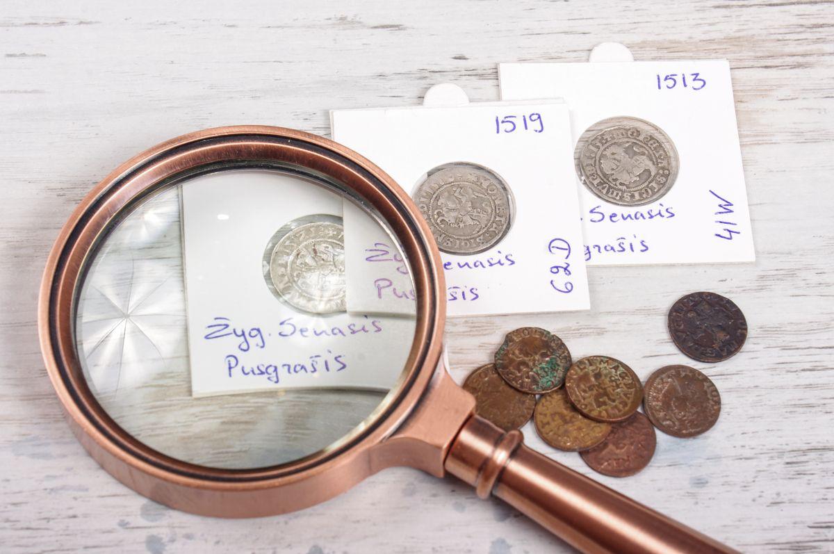 kolekcionavimas, numizmatika https://www.manokolekcija.lt