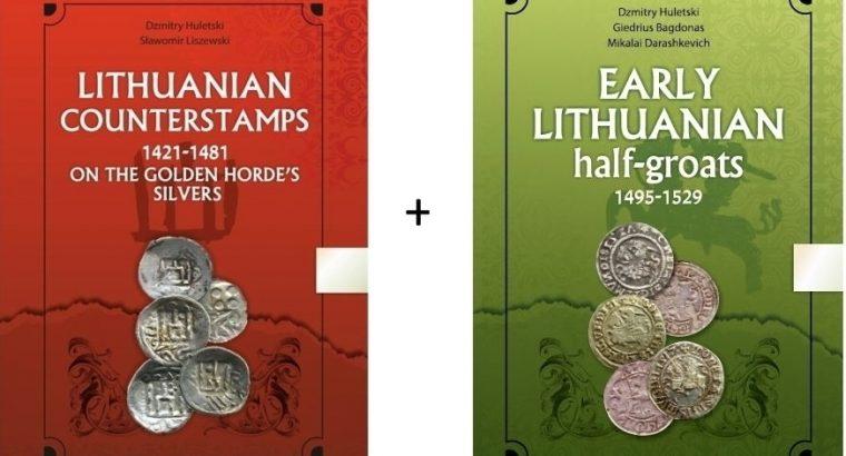 Du nauji viduramžių Lietuvos monetų katalogai