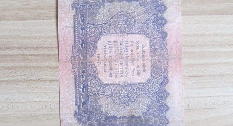 5 aksa , Tuvos respublika , 1920