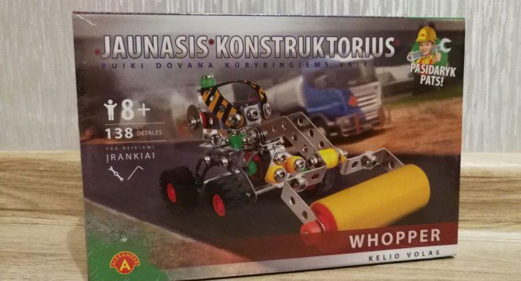 6 vaikisku mechaniniu konstruktoriu kolekcija konstruktorius