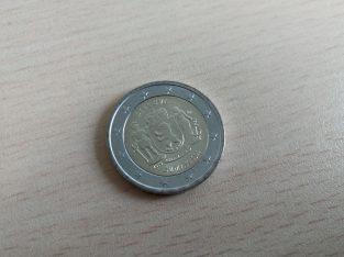 2 euru unc moneta skirta zemaitijai