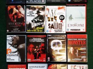 Parduodu siaubo filmų kolekciją