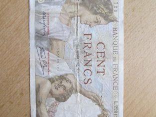 100 francs , Prancūzija , 1941