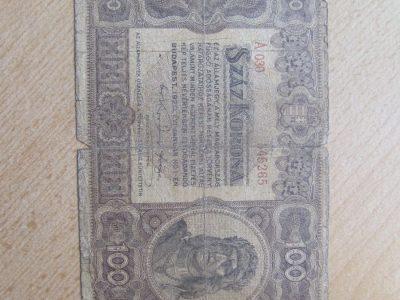 100 korona , Vengrija, 1920