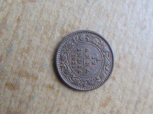 1 / 12 anna , Indija , 1921
